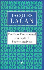 Cover of: The Four Fundamental Concepts of Psycho-analysis
