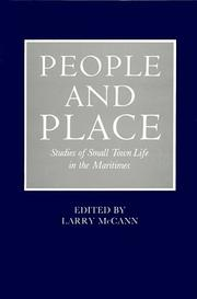 Cover of: People and Place | Larry McCann