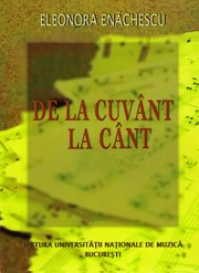 Cover of: De la cuvant la cant by