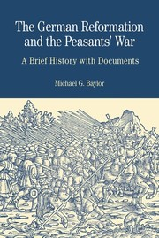 Cover of: The German Reformation and the Peasants' War by