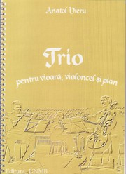 Cover of: Trio for violin, cello and piano by