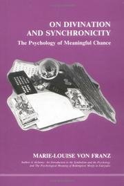 Cover of: On divination and synchronicity