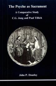 Cover of: C.G. Jung and Paul Tillich | John P. Dourley