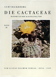 Cover of: Die Cactaceae