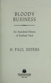 Cover of: Bloody business | H. Paul Jeffers
