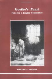 Cover of: Goethe's Faust