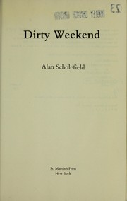 Cover of: Dirty weekend