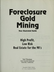 Cover of: Foreclosure gold mining