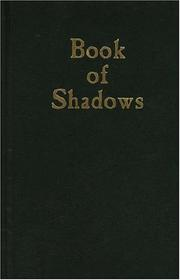Cover of: Book of Shadows (Blank Journal) | Phoenix Publishing