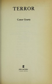 Cover of: Terror by C. A. Gearty