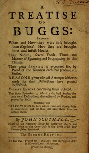 Cover of: A treatise of buggs