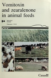 Cover of: Vomitoxin and zearalenone in animal feeds | H. L. Trenholm