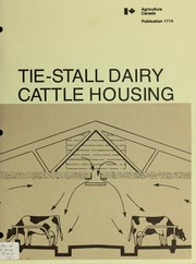 Cover of: Tie-stall dairy cattle housing
