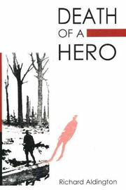 Cover of: Death of a hero: a novel