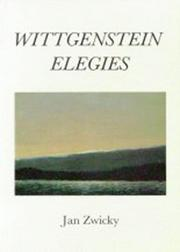 Cover of: Wittgenstein elegies