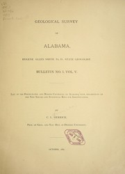 Cover of: List of the fresh-water and marine Crustacea of Alabama