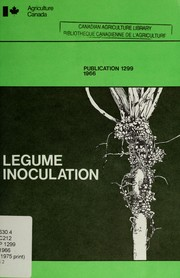 Cover of: Legume inoculation | R. Ashford