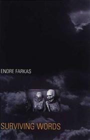 Cover of: Surviving Words | Farkas, Endre