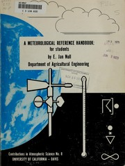 Cover of: A meteorological reference handbook