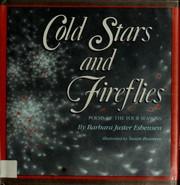 Cover of: Cold stars and fireflies | Barbara Juster Esbensen