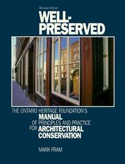 Cover of: Well-preserved | Mark Fram