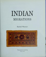 Cover of: Indian migrations