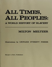 Cover of: All times, all peoples | Milton Meltzer