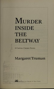 Cover of: Murder inside the Beltway