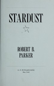 Cover of: Stardust by Robert B. Parker