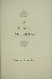 Cover of: A black Englisman | Carolyn Slaughter