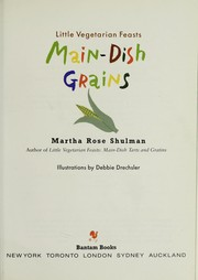 Little vegetarian feasts by Martha Rose Shulman