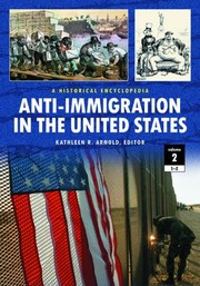 Cover of: Anti-Immigration in the United States |