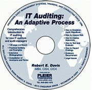 IT Auditing by Robert E. Davis, MBA, CISA, CICA
