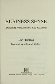 Cover of: Business Sense | Dan Thomas