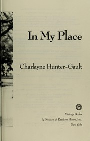 Cover of: In my place | Charlayne Hunter-Gault