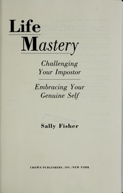 Cover of: Life mastery | Fisher, Sally
