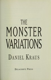 Cover of: The monster variations
