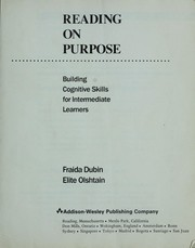 Cover of: Reading on purpose | Fraida Dubin