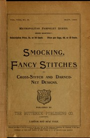 Cover of: Smocking, fancy stitches, and cross stitch and darned net designs
