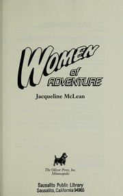 Cover of: Women of adventure | Jacqueline McLean