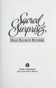 Cover of: Sacred Surprises