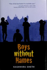 Cover of: Boys without names | Kashmira Sheth