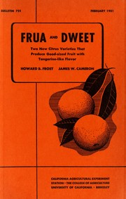 Cover of: Frua and Dweet