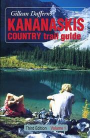 Cover of: Kananaskis Country Trail Guide, Volume 1