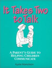 Cover of: It takes two to talk