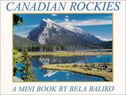 Cover of: Canadian Rockies Mini Book