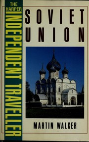 Cover of: Soviet Union