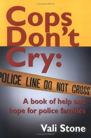 Cover of: Cops Don't Cry