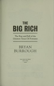 Cover of: The big rich