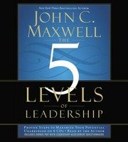 Cover of: The 5 Levels of Leadership [sound recording] |